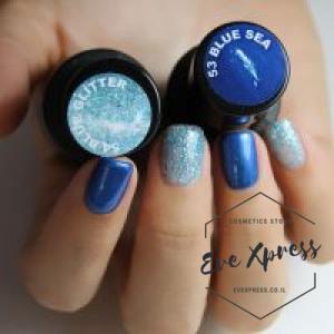 54 BLUE GLITTER