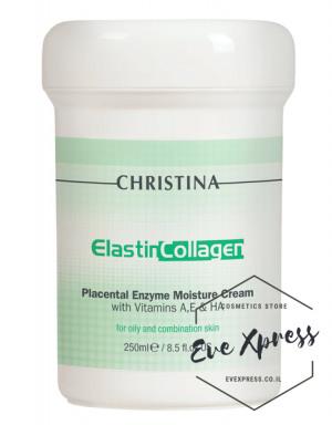 Elastin Collagen-Placental Enzyme Moisture Cream 250ml