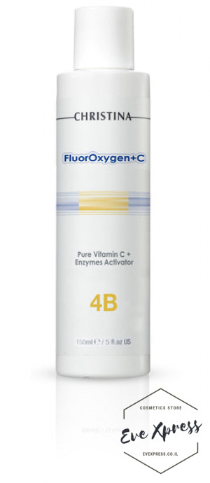 FlourOxygen+C Stage 4B: Pure Vitamin C+ Enzymes Activator 150ml