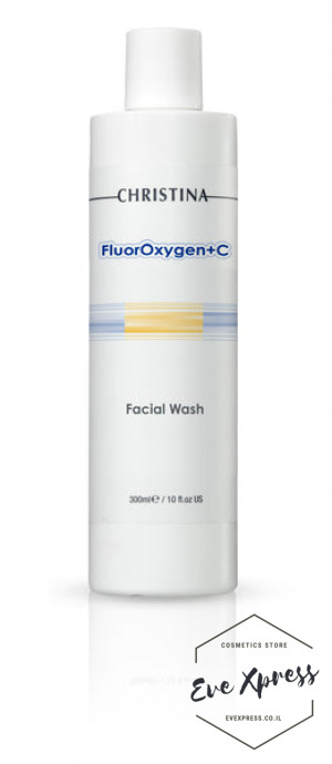 FlourOxygen+C Facial Wash 300ml