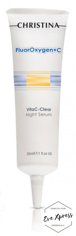 FlourOxygen+C VitaC Clear Night Serum 30ml